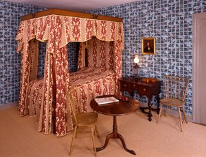 Stephen and Zilpah's bedchamber