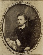Henry Wadsworth Longfellow, the poet's nephew, ca. 1850