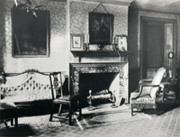 View of the parlor