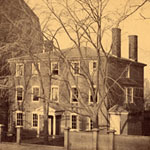 1867 view of the Wadsworth-Longfellow House